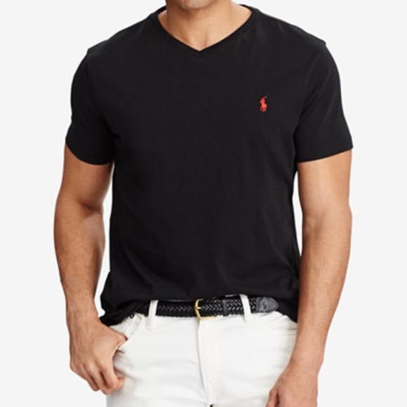 LAST CALL 📞 V-neck polo Ralph Lauren t-shirt 1455df94e307